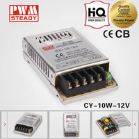 CY-10-12 new high quality slim SMPS switching power supply 10W 12V 0.8A power source LED driver