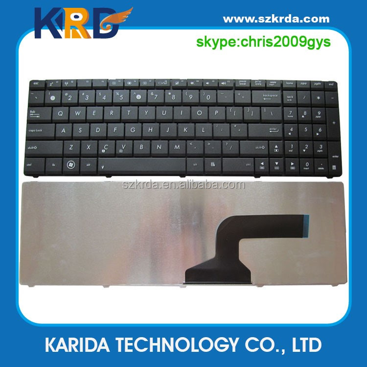 High quality SP/RU/IT/FR/US keyboard for Asus K52 K53 G60 laptop keyboard with frame