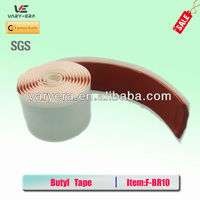 Heat Resistant Sealant Red Butyl Non Woven Tape
