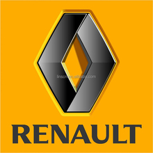 Custom laser cutting 3D stainless steel support renault car logo with its names