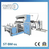 SUNTECH Batching Fabric Roll Inspection and Measuring Machine with PLC