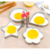DIY Customized Square boiled egg mold in difference shapes 1.2mm Thickness