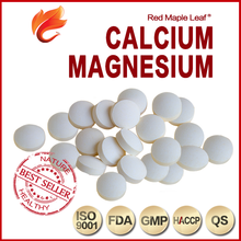 Natural Calcium and Magnesium Oxide Chewable Tablets, pills, supplement - Manufacturer, Price, OEM, Private Label