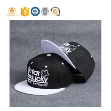 Design your own brand flat brim 5 panel hats caps