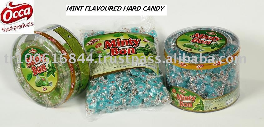 MINT FLAVOURED HARD CANDY- MINTY BON