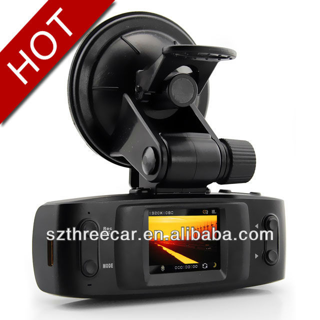 1.5inch +Ambarell chips 1080p full hd HDMI + 120 degree + GPS +G-sensor GS1000 car dvr car video recorder