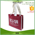 custom chestnut brown recycling non woven fabric 3 bottles Wine beer tote shopping bag alibaba trade assurance