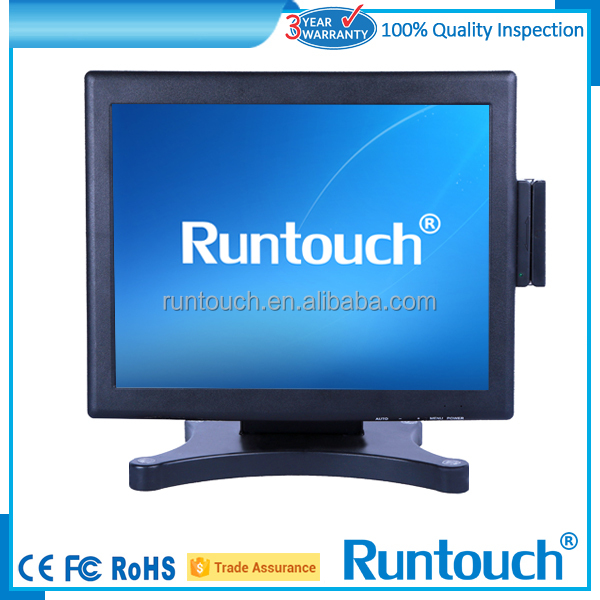 "Runtouch 15"" multi touch screen overlay with USB for LCD display"