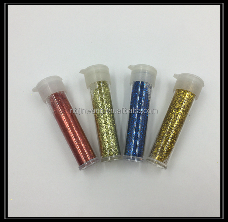 Wholesale Decorative Diamond Colored Bulk Glitter Powder with Squeeze Bottle