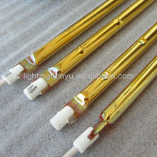 Infrared IR lamps with gold coating
