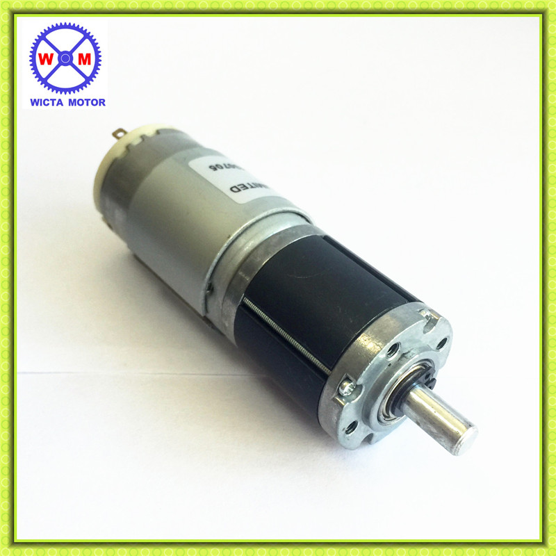 6mm metal shaft 28mm diam high torque 12 volt planetary dc for 12 volt high torque motor