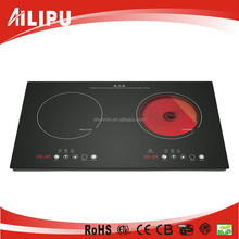 Zhongshan AILIPU 2 Burner Electric Stove, Induction cooker & Infrared cooker