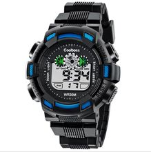 Men Outdoor Sports LED Digital Wrist Watch with Alarm Stopwatch