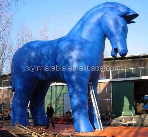 Hot sale outlet custom inflatable horse for advertisement promotion