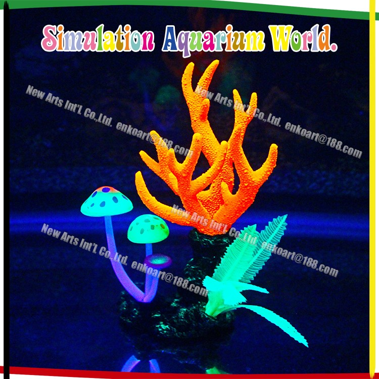 Aquarium simulate live Coral reef Ornament/decoration for fish tank