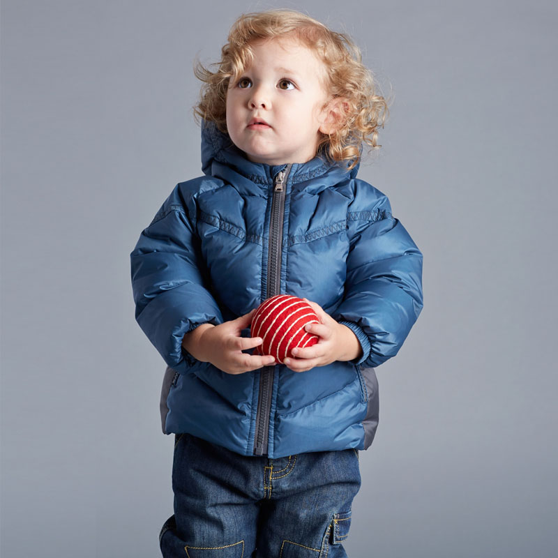 DB2932 dave bella 2015 winter infant coat baby boy down jacket padded jacket outwear boys down coat down jacket