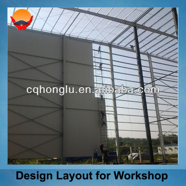 High Quality Steel Structure Portable Warehouse
