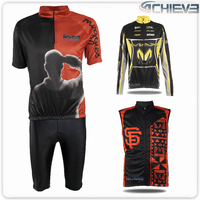 sublimation custom high quality compression skoda cycling jersey