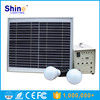 15W portable mini solar power generator / rechargeable Solar power source system for emergency camping home use