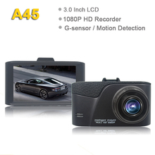 2018 new product wdr g-sensor 1080p manual dash camera hd dvr A45 dvr car camera