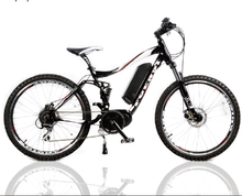RUSH e-bike with BAFANG MAX SYSTEM motor and display