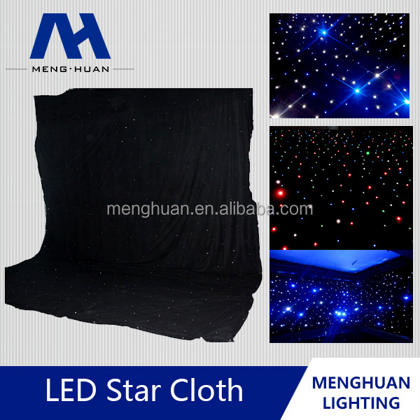 rectangular festival decoration high quality led star light effects