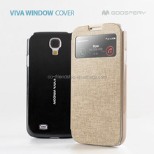 flip case cover for samsung galaxy note3 neo,goospery viva window