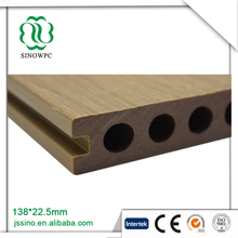 Waterproof co extrusion compounding wpc decking