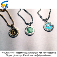 custom new style metal saint christopher medals