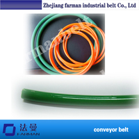 10mm Custom Smooth/Rough Round Polyurethane/Pu Drive Belt At Low Price