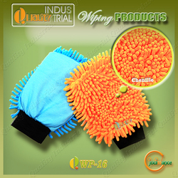 Hot sale chenille cleaning products for Car Care car wash mitt glove