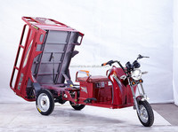Heavy duty cargo tricycle 120cc parking brake Truck tricycle