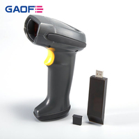Top quality Barcode label scanner china supplier GF-5178R Micro USB wireless laser barcode scanner