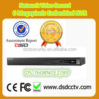 DS-7608NI-E2/8p Hikvision NVR with 8 channel,2HDD NVR