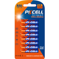 Top Seller PKCELL Wholesale Dry Cell Battery 1.5v aaa lr03 no.7 Alkaline Battery