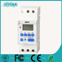 TH-192 B time switch water pump timer 220v programmable digital weekly timer electr timer