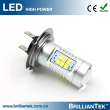 Top Quality Wholesale 12v 24v 16w 6000k H7 Fitment Car Motor High Power LED Bulb Fog Light