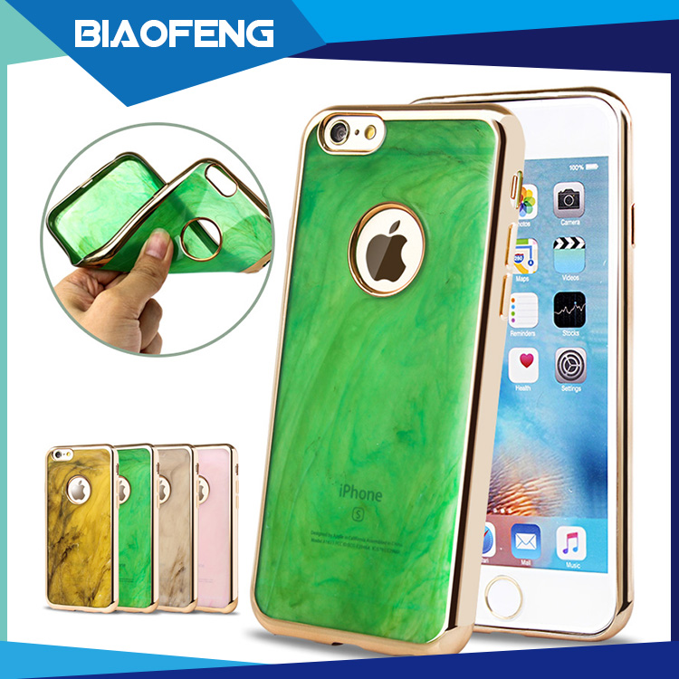 Import innovative mobile phone accessories marble tpu case cover for iphone 6 from foshan suppliers