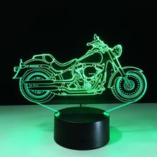 LED 3D pretty motor night light gift home decor new year present