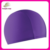 High Quality Cheap Custom Logo Lycra Swimming Cap