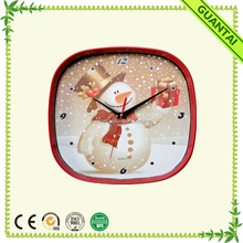 "12"" Square Dependable Performance Led Wall Clock for Bedroom Decor"