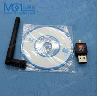 150Mbps mini wireless wifi usb lan card with antenna