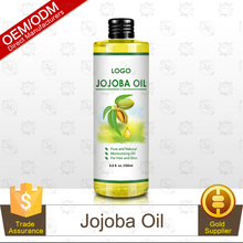 Private Label Pure and Natural Jojoba Oil 250ml Hexane Free As Carrier Oil/Base Oil