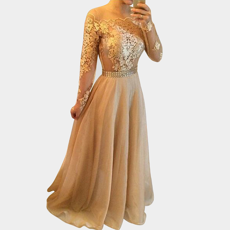 Cheap Gold Prom Dress Long, find Gold Prom Dress Long deals on line ...