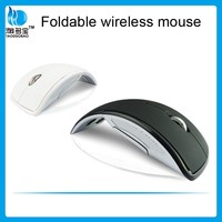 Arc Cheapest Wireless Mouse Optical Folding Mouse for Computer Laptop with CE ROHS Certifications