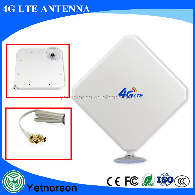 35dBi 4G LTE Antenna Support 4G LTE Router And USB Modem With TS9/CRC9/SMA Interface