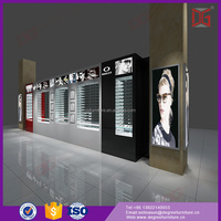 Wow!Customized Unique Design Glass Optical Shop Display Furniture