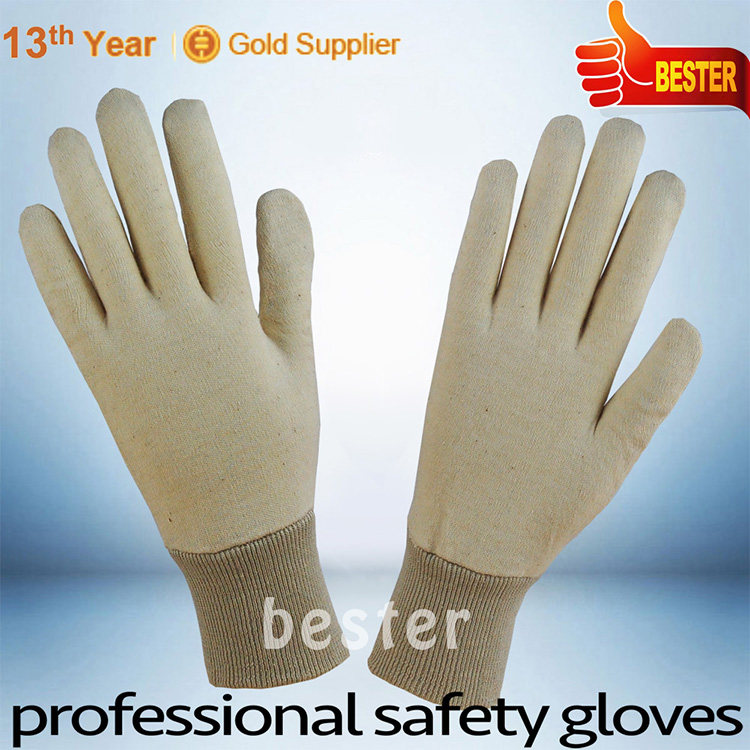 China supplier manufacture competitive design cotton pvc dot coated gloves