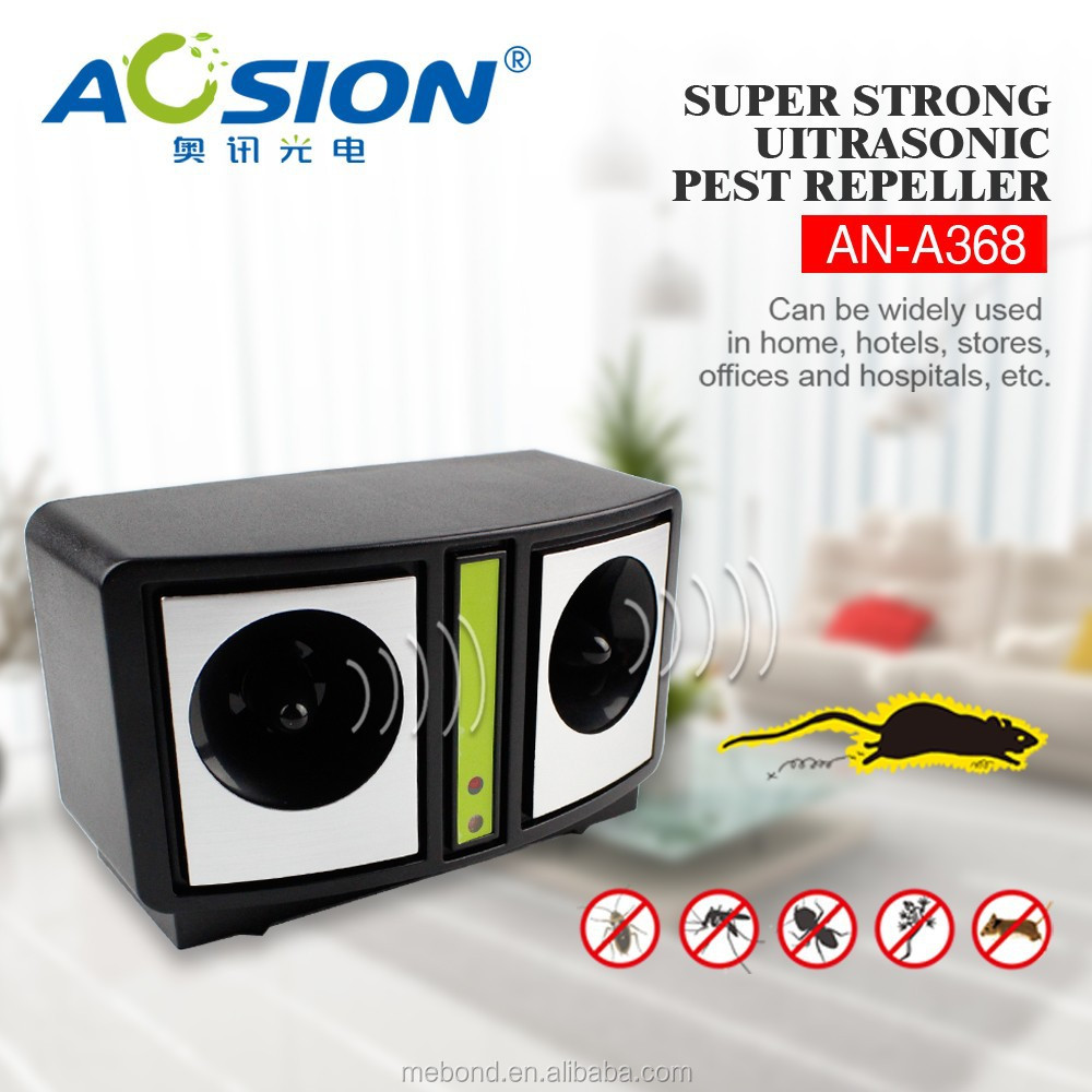 Factory supply Super strong ultrasonic electronic battery powered mouse repellent