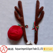 2016 popular design eco-friendly high quality Christmas antler for car decoration